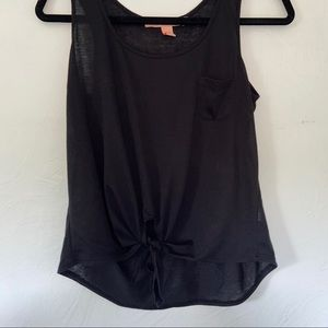 Basic Tank Top with Tie